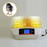 ABS Egg Incubator for Hatching Chickens Pigeo Geese Poultry Ducks Quails