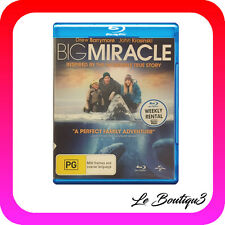 Big Miracle (Blu-ray, 2012) EX-RENTAL
