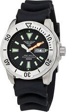 Army watch Germany reloj Náutico ep-860 zafiro vidrio 50 ATM cuarzo hau caballero negro