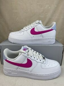 NIKE Air Force 1 Low 'Fire Pink' (W) Sz 7 (CT4328-101)