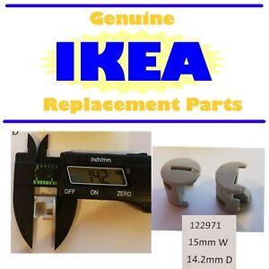 8, 4, 2, 1 Genuine IKEA Beige Nylon Cam Lock Nuts Part #122971