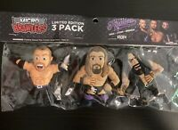 The Kingdom - Pro Wrestling Crate- Micro Brawlers - RoH NJPW - 3 Figure Set
