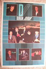Duran Duran Huge 1984 Poster One Stop Brand New Condition