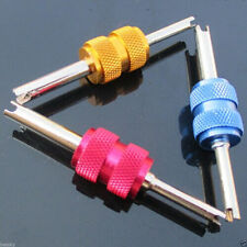 Car SUV Valve Stem Core Remover Tire Repair Install Remove Tool Dual Head Wrench