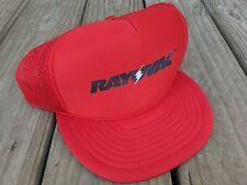 Vintage RAYOVAC Snapback Hat/Cap Mesh Foam Trucker  Battery Flashlight Radio