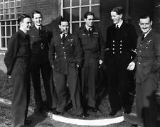 """Guy Gibson and Crew pre dambusters 10"""" x 8"""" Photograph"""