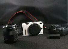 Canon EOS M2 18.0MP Digital Mirrorless Camera w/ lens EF-M 18-55 IS STM 90EX