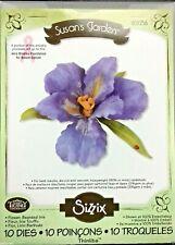 Sizzix Thinlits Die Set 10 Pack Susan's garden Flower  Bearded iris 659256