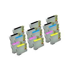 15 Tinta Compatible NON OEM para Epson T0551 T551 T0552 T552 T0553  T0554 T554