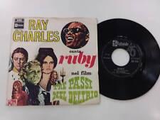 RAY CHARLES RUBY/HARDHEARTED HANNAH 7'' 45 GIRI 1968