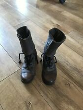 All Saints Rare Damisi Ladies Leather Brown Boots Uk3/36 Excellent Condition