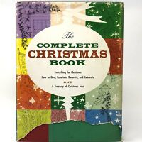 Franklin Watts, William Ronin THE COMPLETE CHRISTMAS BOOK FIRST PRINTING 1958