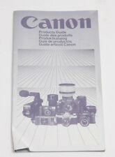 Canon 1983 Products Guide w/ F1 AV1 GIII17 514xl T50 A1 - Multilingual USED B26