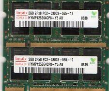 New 4GB (2x 2GB Kit) Fujitsu Stylistic ST5100/ST5111/ST5112 DDR2 Laptop Memory