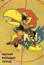 1979-80 Kansas Jayhawks Basketball Schedule jhxb