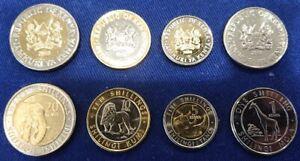Kenya _ set 4 coins 1 5 10 20 Shillings 2018 UNC Lemberg-Zp