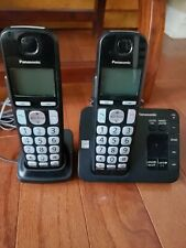 2 Panasonic KX-TGC352B Cordless Phone Systems with Base and Powercords!!