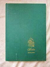 BERTA DISTILLERIE, Italy GRAPPA BRANDY Italian Book w/ Plates ILLUSTRATED 2003