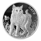 2021 Fiji Cats 1 oz Silver $0.50 Coin GEM BU <br/> Buy With Confidence from ModernCoinMart (MCM) on ebay