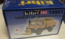 Kibri H0 14983 Mercedes Benz MB Unimog mit Sprüheinrichtung ___ NEU