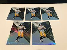 2016 Panini Elite Football Ben Roethlisberger Pittsburgh Steelers 5 card lot #87