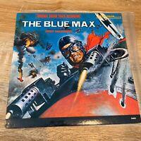 THE BLUE MAX  Motion Picture Soundtrack 1966 Mono Vinyl LP Jerry Goldsmith MINT