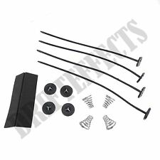 UNIVERSAL RADIATOR ELECTRIC FAN MOUNTING KIT STRAP TIES COOLING free shipping
