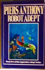 Robot Adept Piers Anthony HB/DJ 1st ed 1st print April 1988 NEAR FINE/NEAR FINE