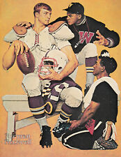 The High School Football Recruit Norman Rockwell 8x10 Poster Fine Art Print