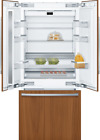 """Bosch B36IT905NP 36"""" Built-In French Door Smart Panel Ready Refrigerator  photo"""