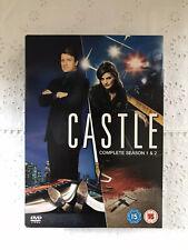 Castle Complete Season 1 & 2 DVD Box Set. Region 2