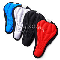 SEAT COVER SADDLE COVER GEL BIKE PADDED GEL FOR MTB/SPINNING/CITYBIKE (02)