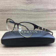 cbcca798b80 Versace Mod 1233-Q 1233 Q Eyeglasses Brown Havana Gold 1344 Authentic 53mm