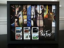 6 ROYAL MAIL STAMPS TO CELEBRATE 50 YEARS OF PINK FLOYD  PRESENTED IN A FRAME