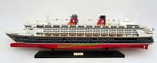 "Disney Magic Ocean Liner Cruise Ship Model 32"" - Handcrafted Wooden Model NEW"