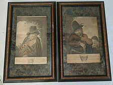 Adriaen van Ostade, PAR Original period etchings - FRAMED