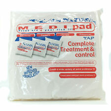 TAP Medi Pad Treatment For Bacteria, Fungus, Parasites Ulcers In Koi Fish Pond
