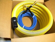 "Carpet Cleaning  25' Vacuum & Solution Hoses 1.5"" wand cuff"