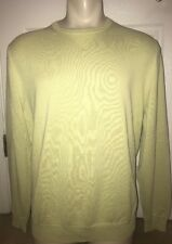 Tommy Bahama Light Green Solid Sweater Size XL