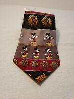 Mickey Mouse Necktie    Sunflowers