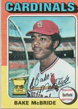 1975 Topps Mini #174 Bake McBride St. Louis Cardinals (2018-0743)