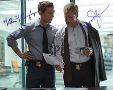 "Matthew McConaughey -  Woody Harrelson 10""x 8"" Signed Color PHOTO REPRINT"