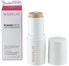 MODEL CO Power Stick  Duo Foundation # 01 IVORY
