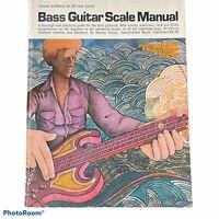 Bass Guitar Scale Manual, Paperback Harvey Vinson 1975 Plus Poster