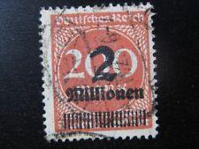 DEUTSCHES REICH Mi. #309b W scarce used expertized stamp! CV $16.75