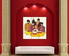 Beatles Yellow Submarine Giant Wall Art Poster Print Picture