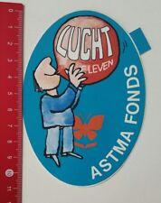 Aufkleber/Sticker: Lucht Ie Leven - Astma Fonds (180217169)
