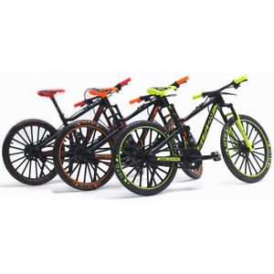 Gebogenes Bü Desktop Rennspielzeug Mini Diecast Fahrrad Modell 1:10 Maßstab