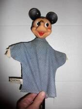 "Gund Mfg. Co. ~ Original 4"" Mickey Mouse Hand Puppet 1950's"