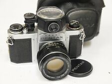 Pentax S1a 35mm SLR Camera, Metered & 55mm F2 Lens. stock No. U10842